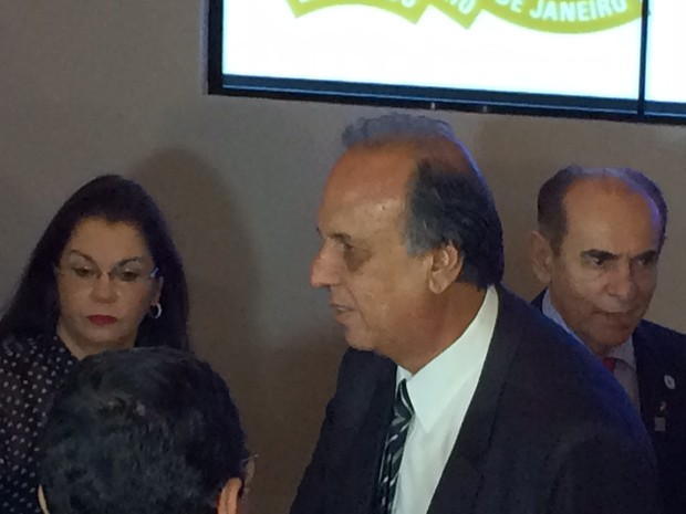Pezão falou sobre carta de Michel Temer a Dilma publicada nesta segunda (Foto: Mariana Cardoso/G1)