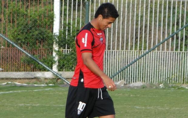 Ricardo Bueno, atacante do Atlético-GO (Foto: Divulgação/Atlético-GO)