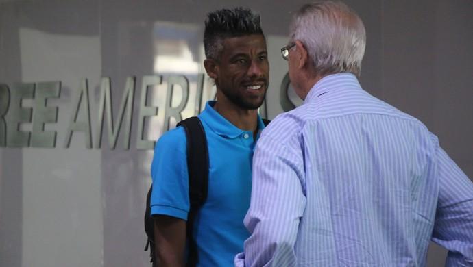 Léo Moura Grêmio (Foto: Eduardo Moura/GloboEsporte.com)