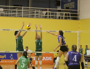 Rondônia venceu a primeira partida no Brasileiro de Seleções de Vôlei (Foto: CBV/ Divulgação)