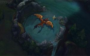 Imagem da nova versão do mapa Summoner's Rift (Foto: Divulgação/Riot Games)