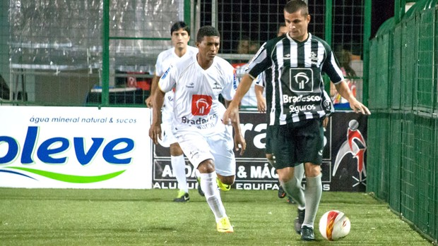 Botafogo e Santos Showbol (Foto: Luiz Carlos Quadro Junior / Divulgação)