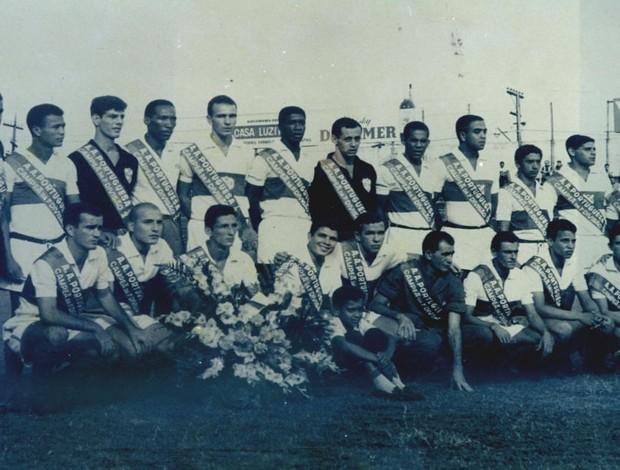 Portuguesa Santista conquista o acesso para a primeira divisão paulista (Foto: Arquivo Pessoal / Marçal)