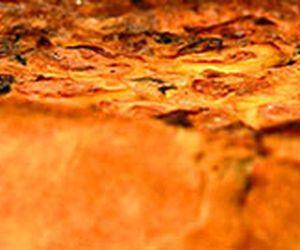 Quiche de Bacalhau com batatas e azeitonas