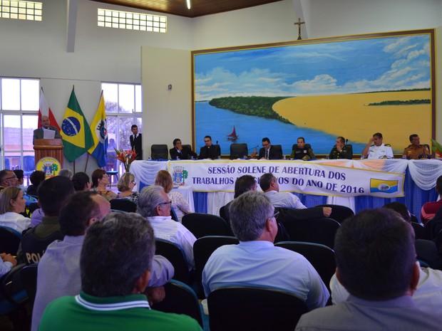 Câmara de Vereadores de Santarém (Foto: Aritana Aguiar/G1/Arquivo)