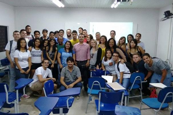 Hebert Araújo no Decom (Foto: Divulgação)
