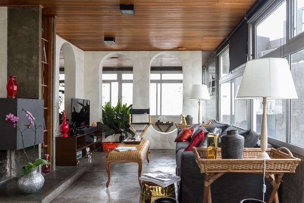 Gabi Lopes mostra decoração de seu apartamento de 330 m² em São Paulo (Foto: Renata D'Almeida / EGO)