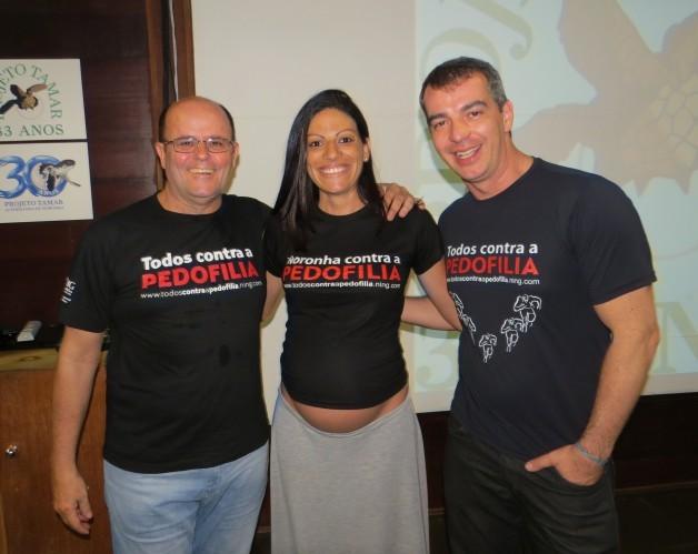 André Rabelo, Virginia Anghinoni e Casé Fortes (Foto: Ana Clara Marinho)