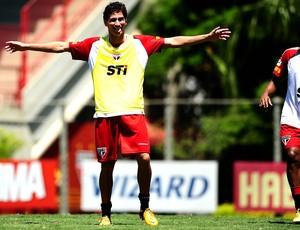 paulo henrique ganso são paulo treino (Foto: Marcos Ribolli / Globoesporte.com)