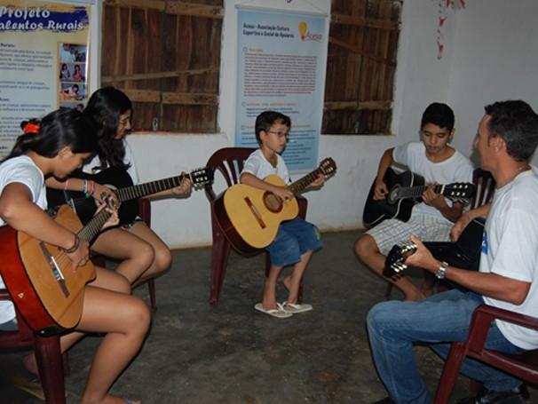 Aulas de música (Foto: Divulgação)