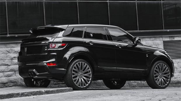 Land Rover Range Rover Evoque customizado pela Khan Design (Foto: Divulgação)