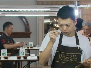 Café brasileiro, Poços de Caldas (Foto: Reprodução EPTV)