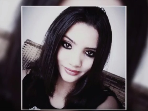 Sindy Lorrhainy Ocanha Pereira foi morta no banheiro em Ariquemes (Foto: Rede Amazôniza/ Reprodução)