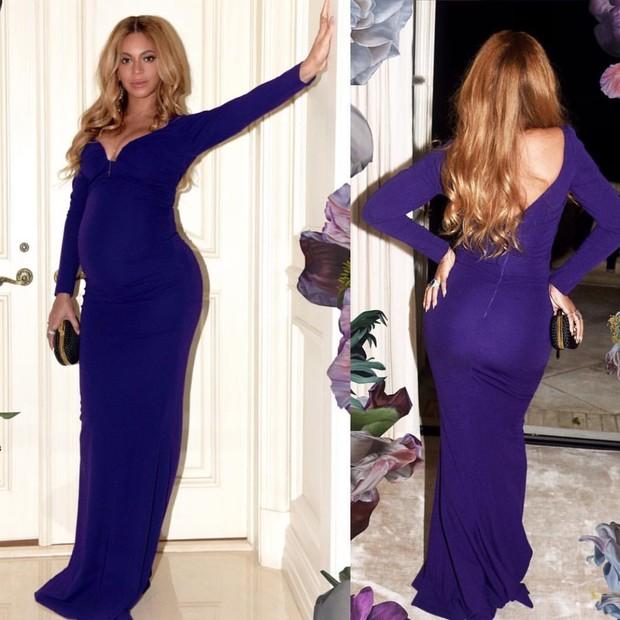 O vestido era Nicolle Miller (Foto: Reprodução )