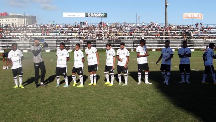 Time do ASA (Foto: Leonardo Freire/GloboEsporte.com)