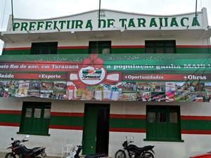 Prefeitura Tarauacá (Foto: Yuri Marcel/G1)