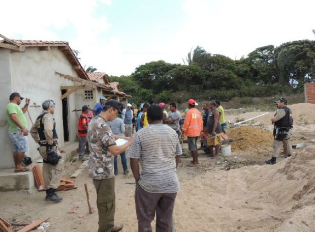 Trabalhadores foram resgatados em operações em duas cidades, Ibiapiana e Penteconste (Foto: Ministério do Trabalho/Divulgação)