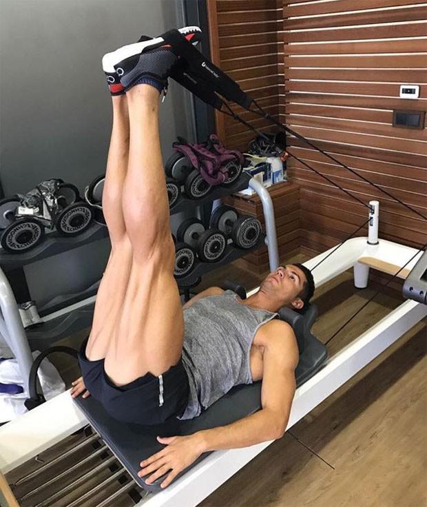 Cristiano Ronaldo (Foto: Reprodução/Facebook)