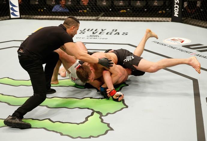 Bojan Velickovic Alessio Di Chirico UFC Croácia (Foto: Getty Images)