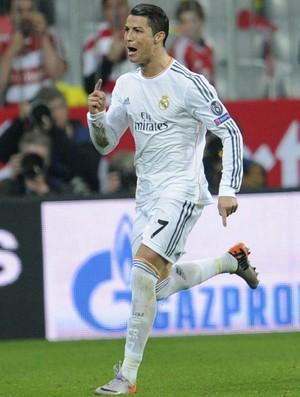 cristiano ronaldo Real Madrid x bayern munique (Foto: Getty Images)