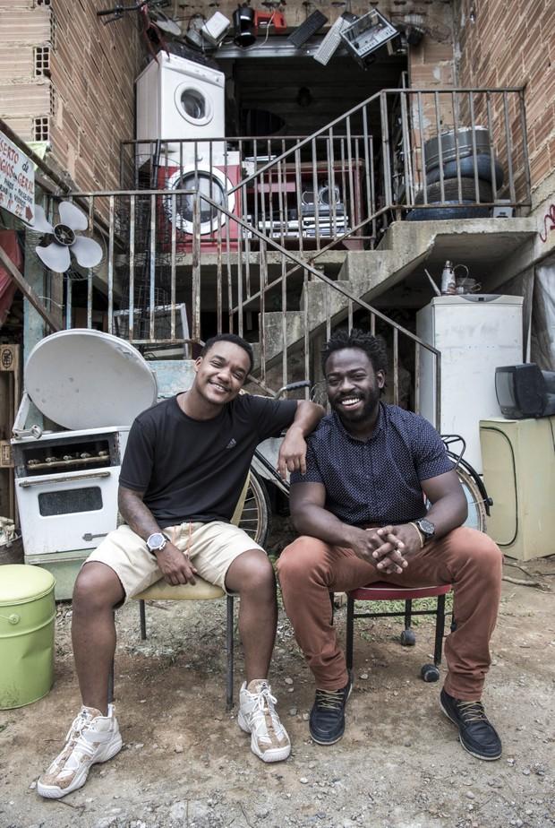 Darlan Cunha e Douglas Silva  (Foto: Globo/Estevam Avellar)
