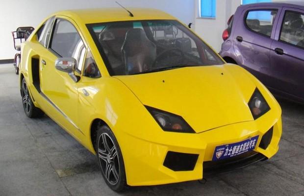 Imitação Chinesa do Lamborghini Aventador (Foto: Reprodução)