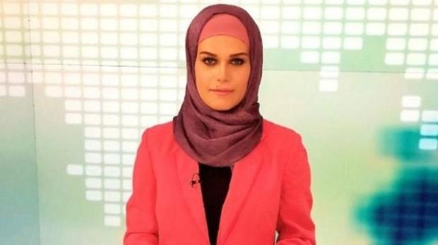 Apresentadora de TV iraniana que denunciou assédio sexual de ex-chefe (Foto: Reprodução / Facebook)