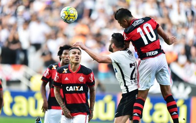 Guerrero Corinthians x Flamengo (Foto: Marcos Ribolli)