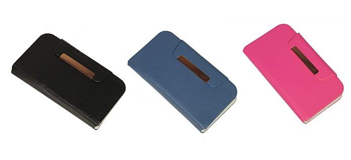 Capa de couro para celular em diversas cores e modelos (Foto: Divulgação/Matecki)