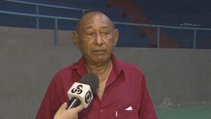 Alaor Nery, presidente da Federação Amapaense de Voleibol (FAV) (Foto: Reprodução/Rede Amazônica no Amapá)