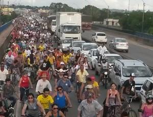 3ª Pedalada acontece em Ji-Paraná no Dia do Trabalhador (Foto: Silvio Souza/ Arquivo pessoal)