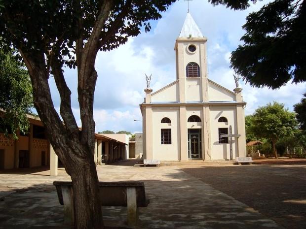 Igreja de Santo Antonio no bairro Santo Antonio do Sapezeiro, em Santa Bárbara d'Oeste (Foto: Prefeitura de Santa Bárbara)