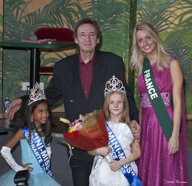 O concurso 'Mini-Miss França' proíbe maquiagem, salto alto e roupas 'inapropriadas' (Foto: Divulgação)
