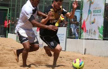 Rio Branco bate o Botafogo e garante vaga na Copa Brasil de futebol de areia