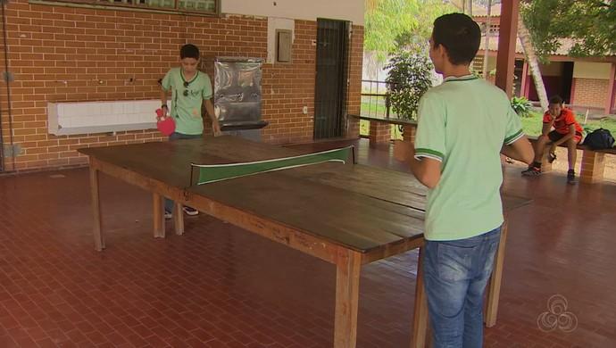 Tênis de mesa; Amapá (Foto: Reprodução/Rede Amazônica no Amapá)
