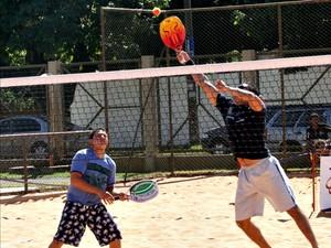 Tênis de praia em Campo Grande (Foto: Divulgação/Funesp)