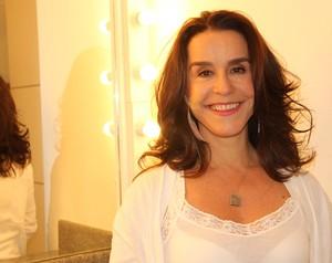 Lucélia Santos diz estar emocionada com reencontro com colegas (Foto: Fábio Rocha/TV Globo)