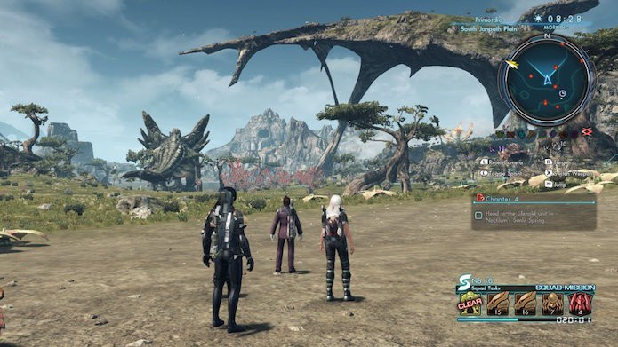 Xenoblade Chronicles X: confira como jogar online (Foto: Reprodução/Victor Teixeira)