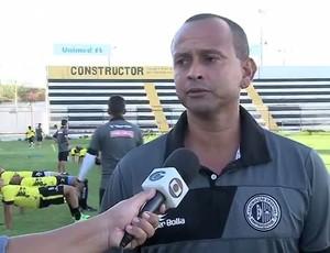 Jaelson Marcelino, técnico do ASA (Foto: Reprodução/TV Gazeta)