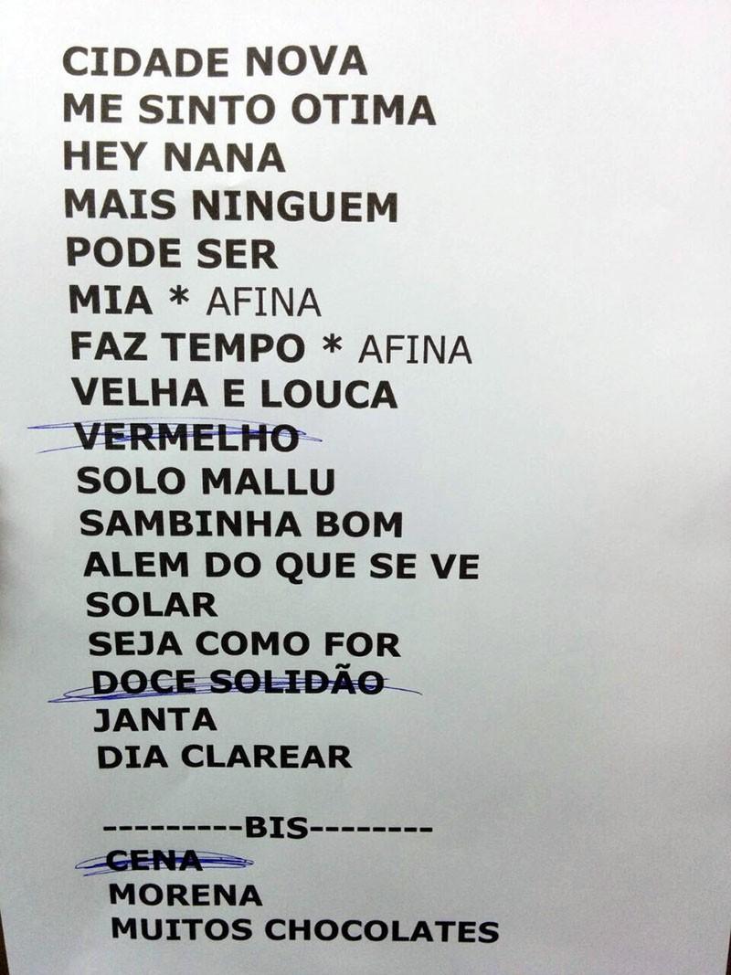 Setlist: Banda do Mar (Foto: Livio Vilela)