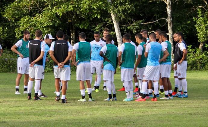 treino Santa Cruz (Foto: Aldo Carneiro/Pernambuco Press)