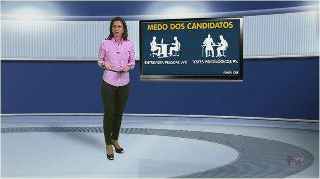 Saiba como se portar em uma entrevista de emprego (Foto: Reprodução EPTV)
