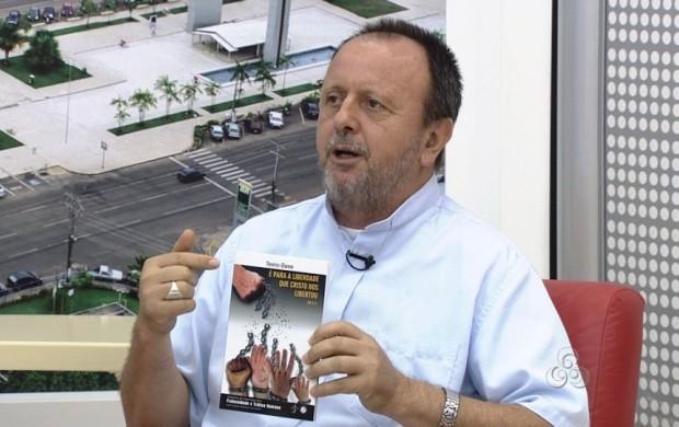 Bispo de Roraima fala sobre a campanha (Foto: Roraima TV)