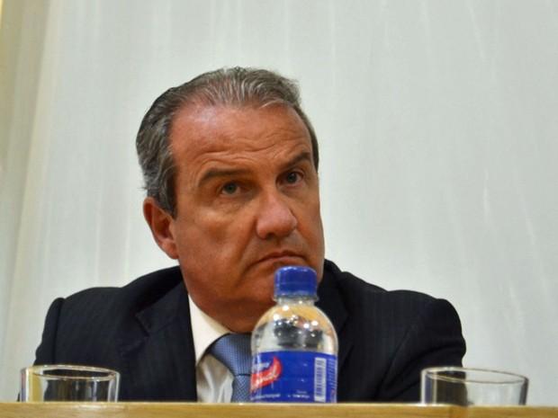 Magino Alves Barbosa Filho fica interinamente à frente da SSP (Foto: Rodrigo Paneghine/Divulgação/SSP-SP)