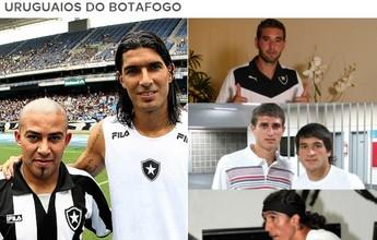 Com Salgueiro, Bota refaz elo histórico com o Uruguai de 634 jogos e 5 títulos