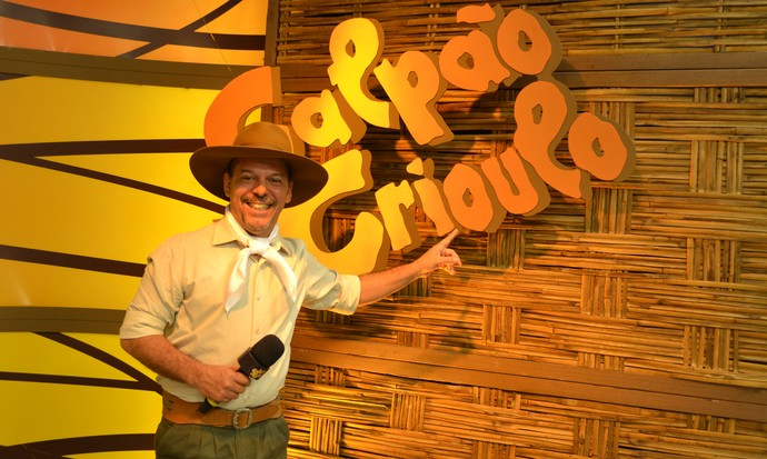 Neto Fagundes Galpão Crioulo (Foto: Nice Sordi/RBS TV)