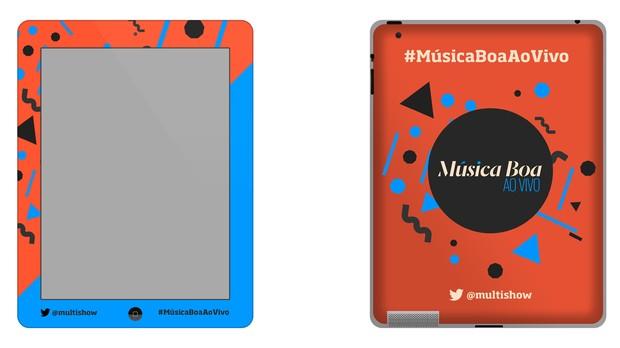 Tablet Msica Boa Ao Vivo (Foto: Multishow)