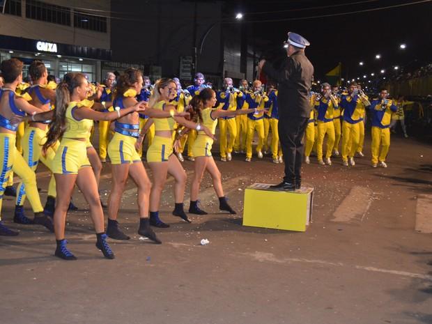 Festival de Bandas e Fanfarras em Santarém (Foto: Adonias Silva/G1)