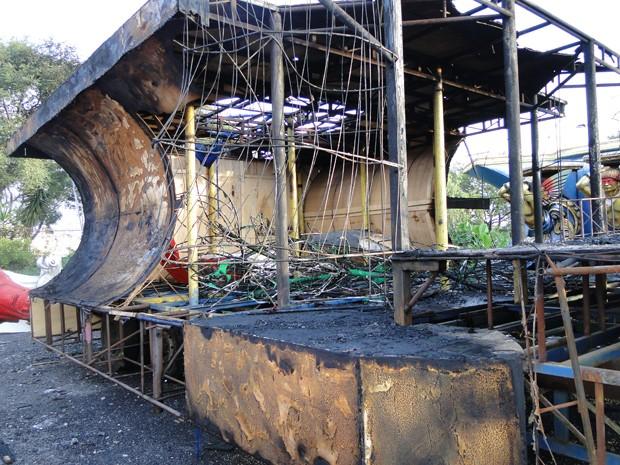 incendio Pérola 1  (Foto: Divulgação)