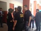 PF prendeu um e apreendeu dinheiro (Abinoan Santiago/G1)